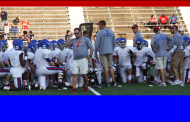 Grapevine Mustangs Hold Scrimmage Against Denton-Ryan
