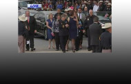 Funeral of Harris County Sheriff Deputy Darren Goforth and Blue Lights by his Brothers