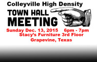 Colleyville City Council Scheduled to Vote on High Density Language on Dec. 15, 2015
