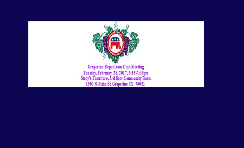 Grapevine GOP Club To Meet