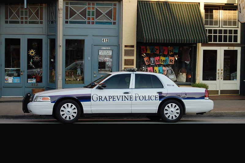 Grapevine Arrest Jail Book-Ins and Incident Reports