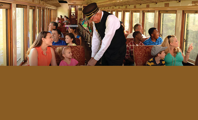 CELEBRATE MOM AND NATIONAL TRAIN DAY ABOARD GRAPEVINE'S VINTAGE RAILROAD MAY 13 AND 14