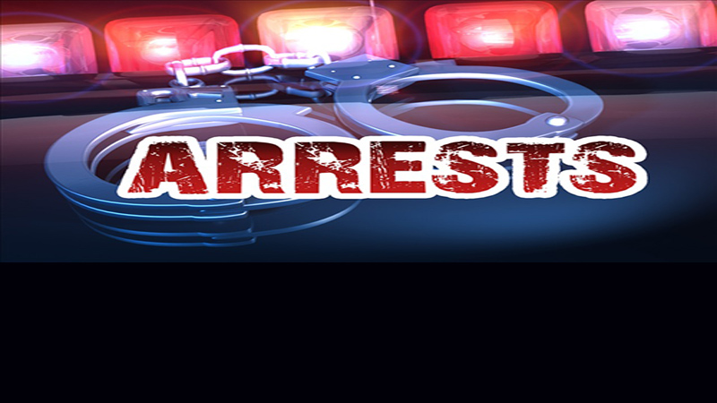 Recent arrests as reported by Keller Law Enforcement