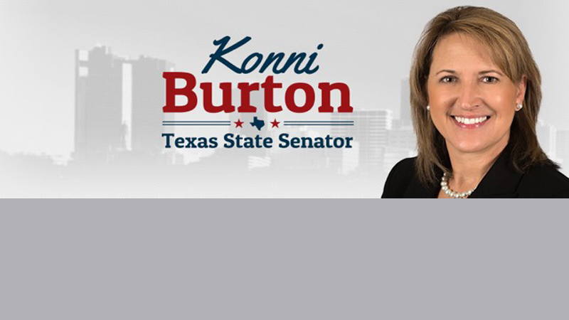 Senator Konni Burton Earned a Perfect Score from Texans for Fiscal Responsibility - Refiles
