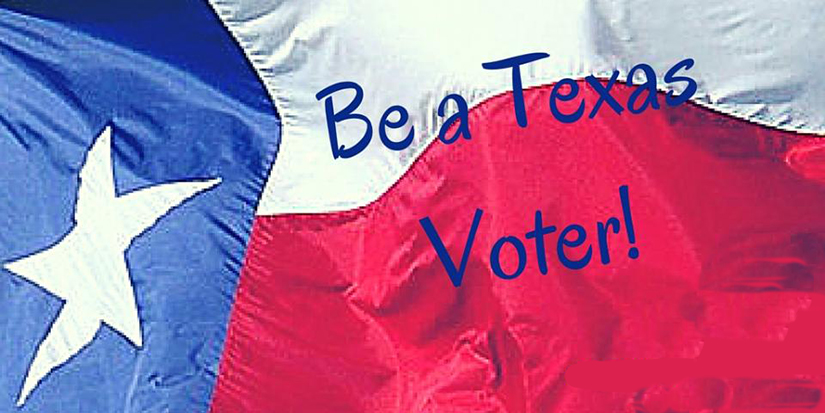 BAD NEWS, Texas ranked 47th out of all US States for Percentage of Voters in 2016 Presidential Election