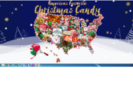 Most Popular Christmas Candy by State
