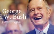 Goodbye President Herbert Walker Bush - 41st President