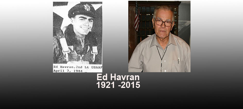 Area Historian Ed Havran Has Died