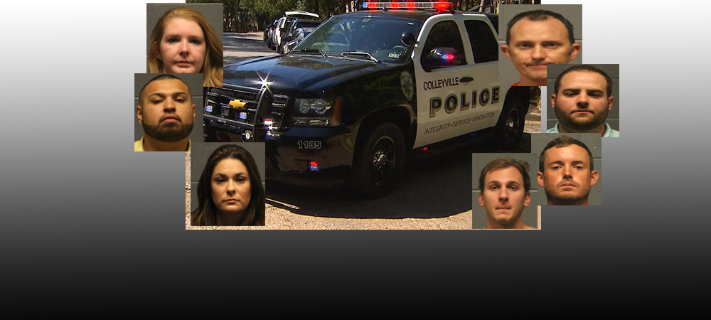 Review of Arrests and Crime in Colleyville last week