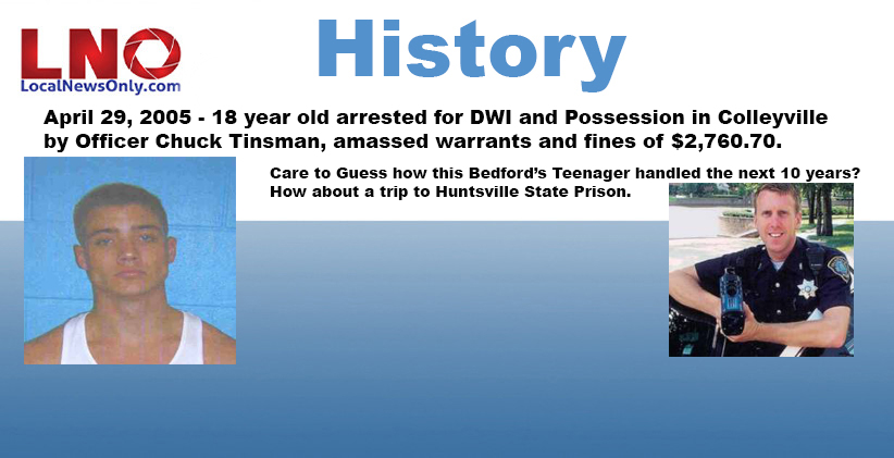 A Bedford Teenager arrested April 29, 2005 - Next 10 Years follow up
