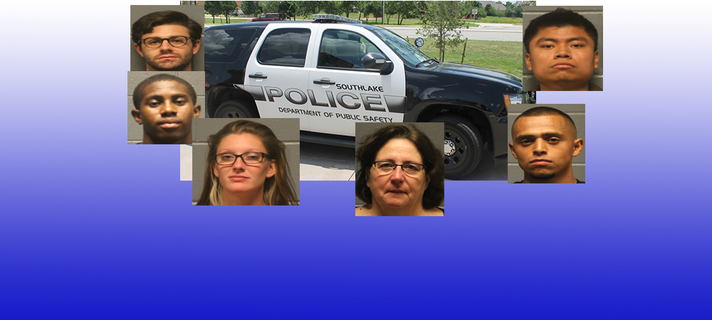 Arrests in Southlake September 4th - September 10, 2015