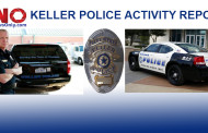 Keller Recent Arrests as Reported by the Keller Police Dept.