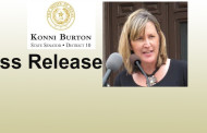 SEN. KONNI BURTON ISSUES STATEMENT ON LT. GOVERNOR'S CURRENT INTERIM CHARGES