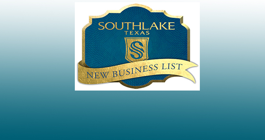 Southlake, Texas Report on New Businesses as of January 2017