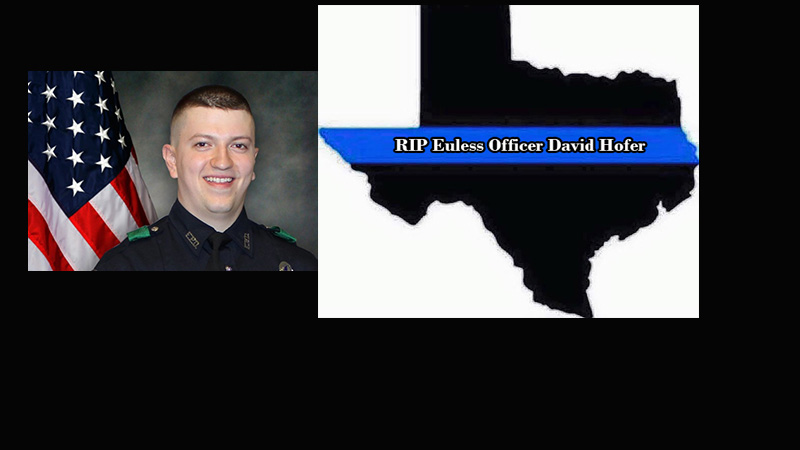 Funeral Memorial for Euless Slain Officer David Hofer
