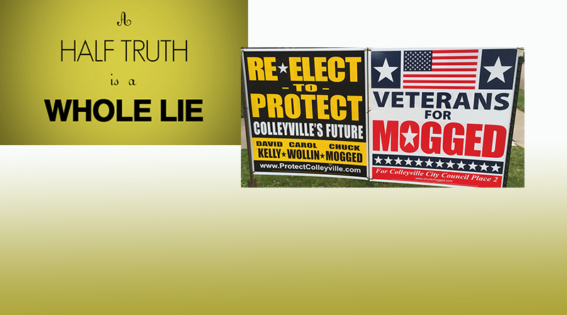 A Half-Truth is a Whole Lie...Editorial by Nelson Thibodeaux, Editor LNO