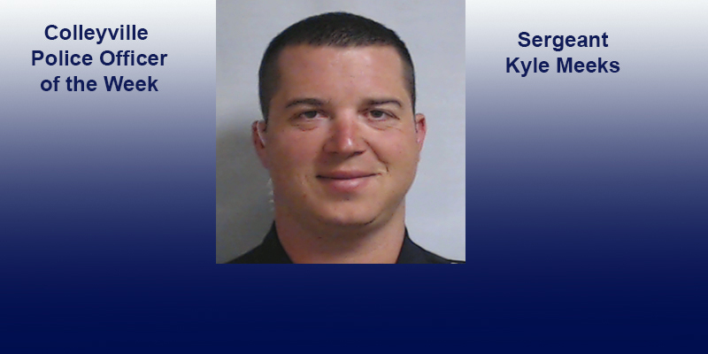 Colleyville Police Officer of the Week -- Colleyville Recent Arrests as Reported by Colleyville PD