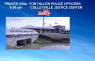Prayer Vigil at the Colleyville Police Department at 6:00 pm tonight