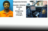 Recent Grapevine Arrests as Reported by Grapevine Police Dept