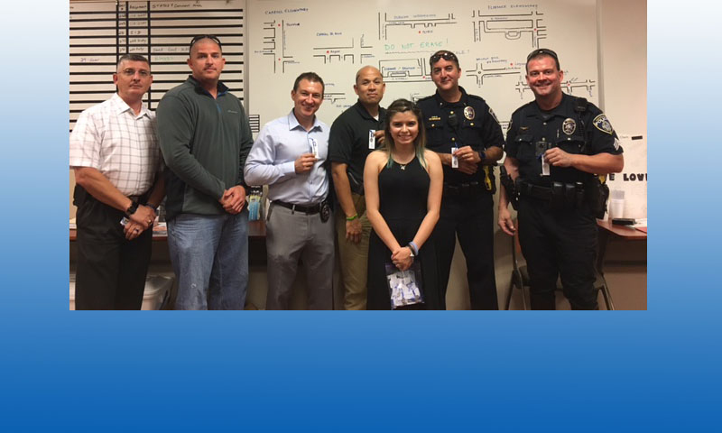 Southlake Police Officers Receive Special Gift
