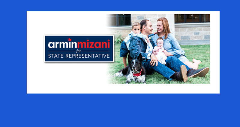 Armin Mizani Announces as a Candidate for District 98 State Representative