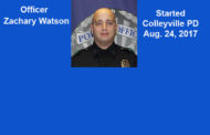 Recognizing Officer Zachary Watson, Colleyville PD...and Recent Arrests as Reported by Law Enforcement