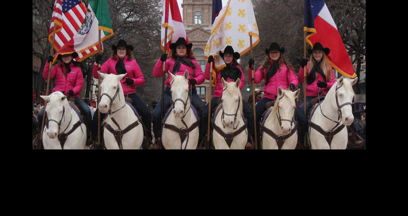1895 Tarrant County Courthouse Tours After Stock Show Parade