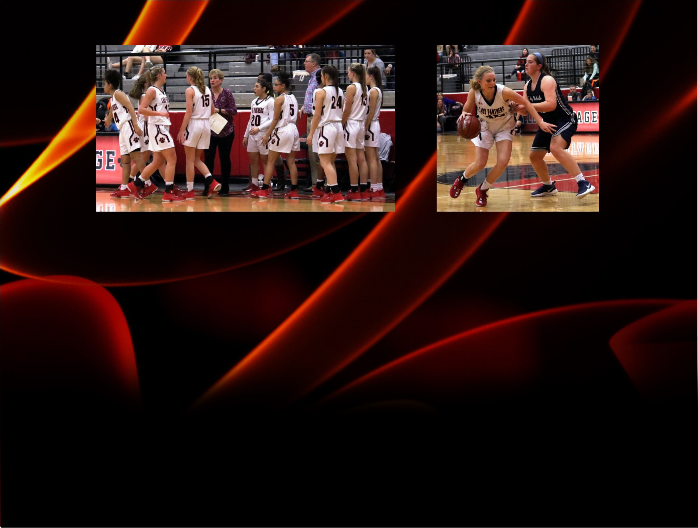 Colleyville Lady Panthers Victorious Over Richland at Home
