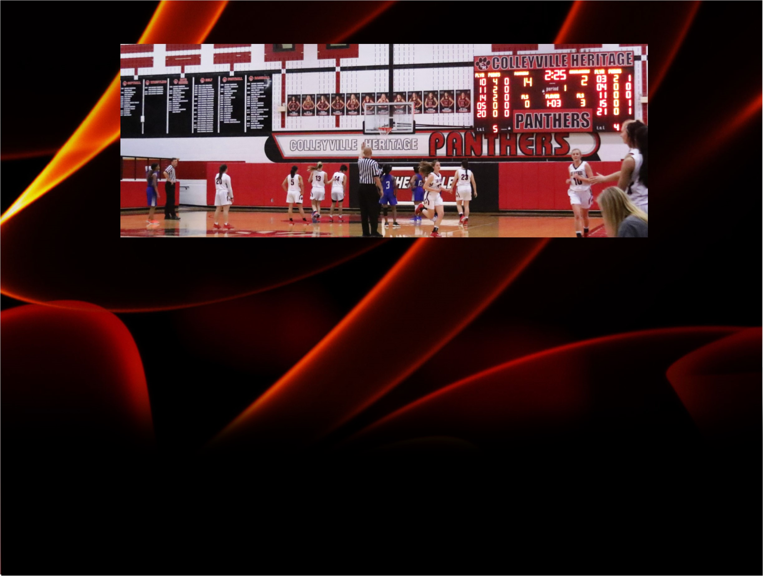Colleyville Lady Panthers Rout FW Eastern Hills at Home