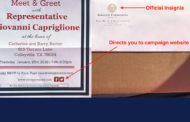 Ethics Complaint Filed Against State Rep. Gio Capriglione