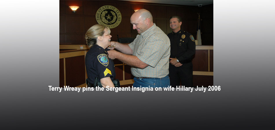 Hillary Wreay, New Assistant Police Chief!!!!!!!!!!