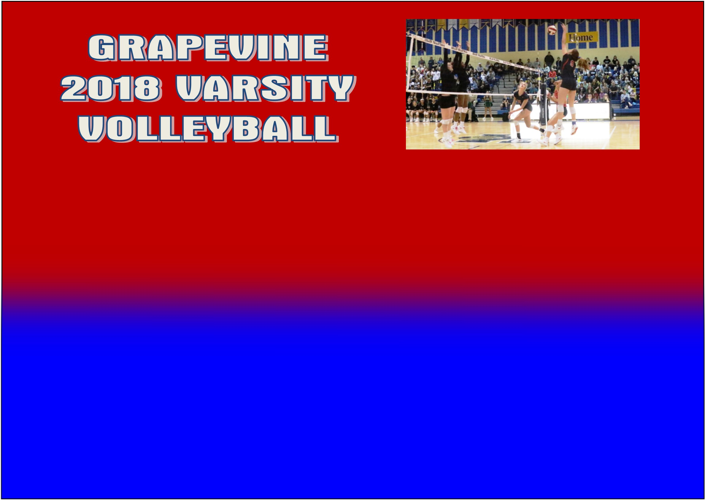 Volleyball: Grapevine Falls to Birdville in Quarter-Finals Playoff Match 3-1