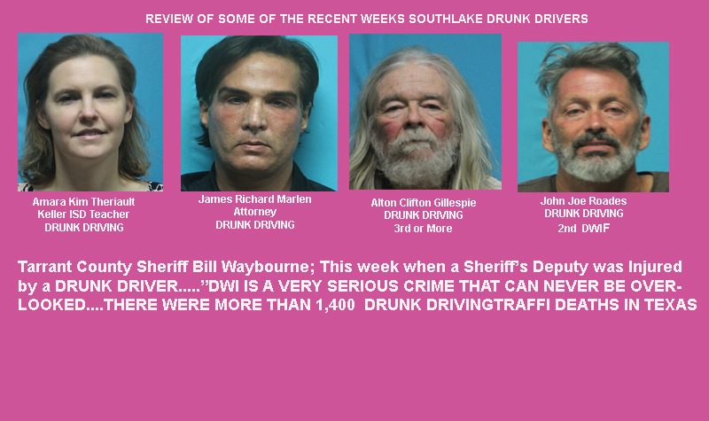 Drunk Driving in Southlake & More