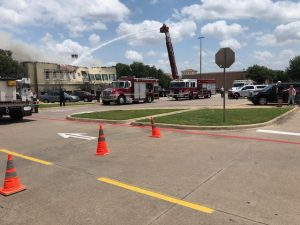 Colleyville fire burns down Italian restaurant, mortgage office