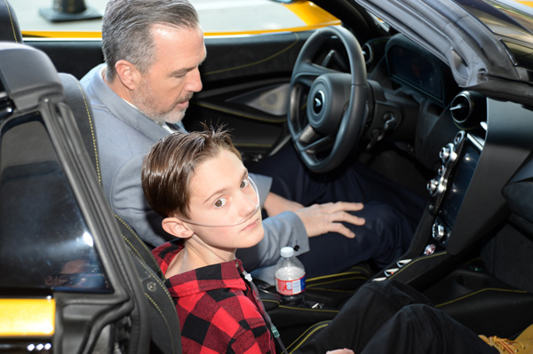 McLaren Dallas Gives 11-Year-Old Children's Health SM Patient the Ride of His Life in a McLaren 720S