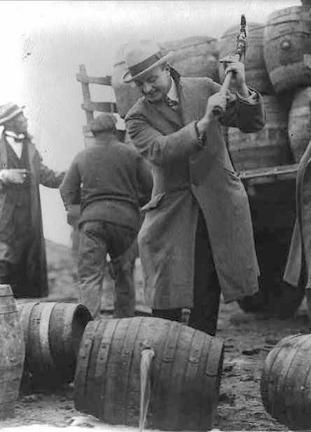 January 16, 1920 Prohibition becomes law of the land
