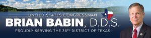 Congressman Brian Babin, DDS