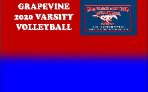 GCISD Volleyball: Grapevine Ladies Outclassed by Denton Ladies 3-0