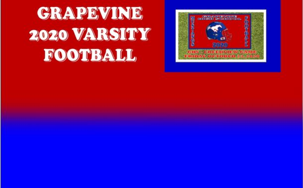 GCISD Football:  Grapevine Mustangs Hammers Creekview Mustangs in First District Game 74-0