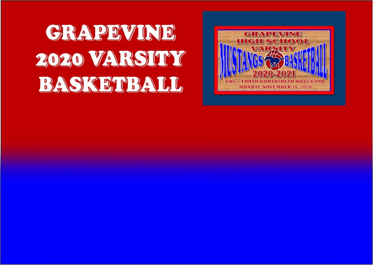 GCISD Basketball: Grapevine Mustangs Defeated By Fort Worth South Hills Scorpions 67-62