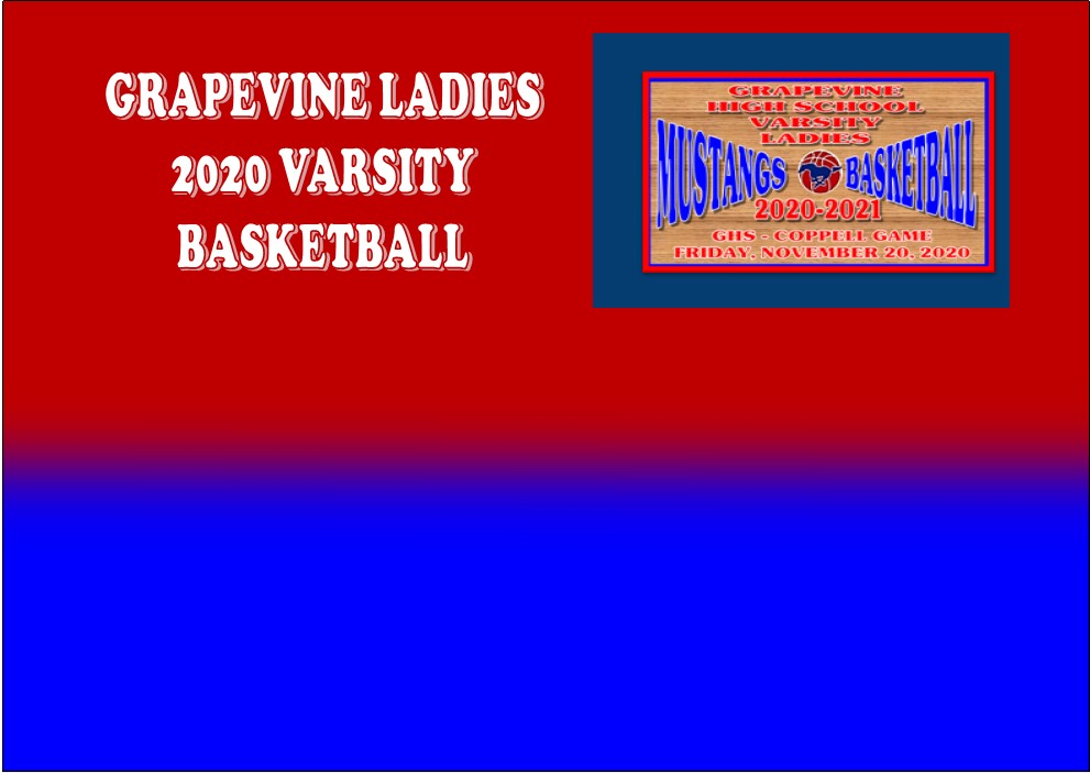 GCISD Ladies Basketball: Grapevine Lady Mustangs Roll Past the Coppell Cowgirls 42-25
