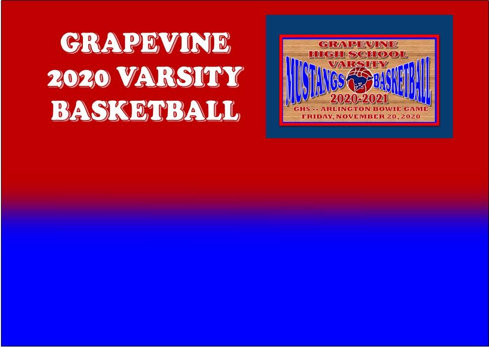 GCISD Basketball: Grapevine Mustangs Beaten By The Arlington Bowie Volunteers 77-48