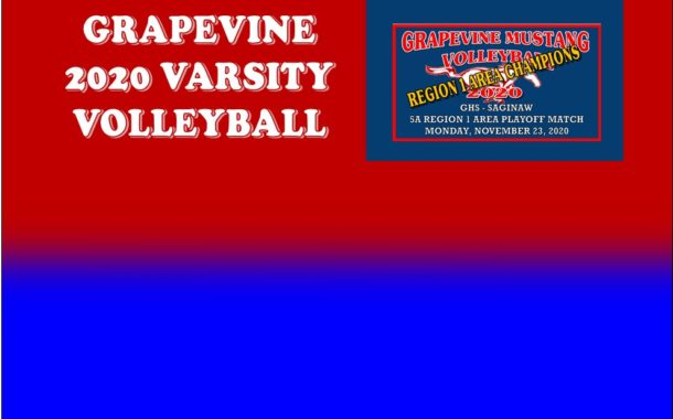 GCISD Volleyball: Grapevine Mustangs Sweep Saginaw Rough Riders Advancing to Round 3 of Playoffs