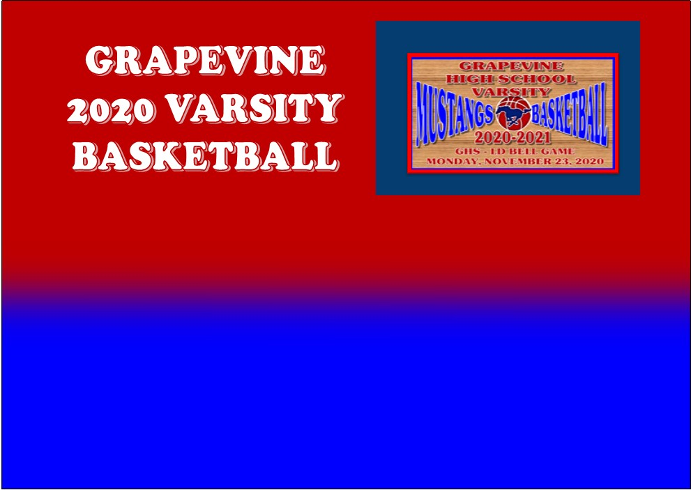 GCISD Basketball: Grapevine Mustangs Slip Past LD Bell Blue Raiders 63-60