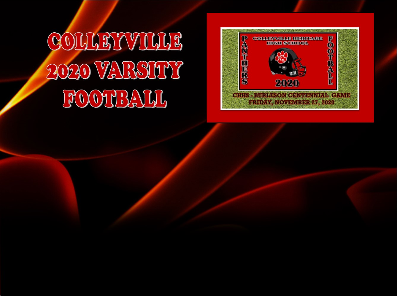 GCISD Football:  Colleyville Heritage Shuts Down Burleson Centennial to Remain Undefeated 34-6