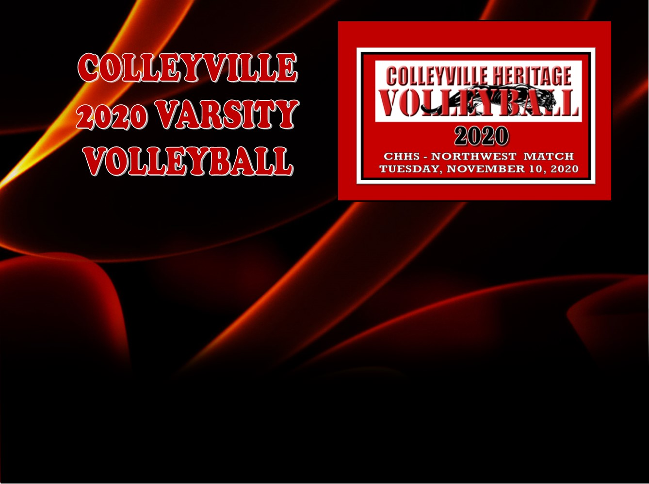 GCISD Volleyball: Colleyville Lady Panthers Loss to Northwest Lady Texans 3-0