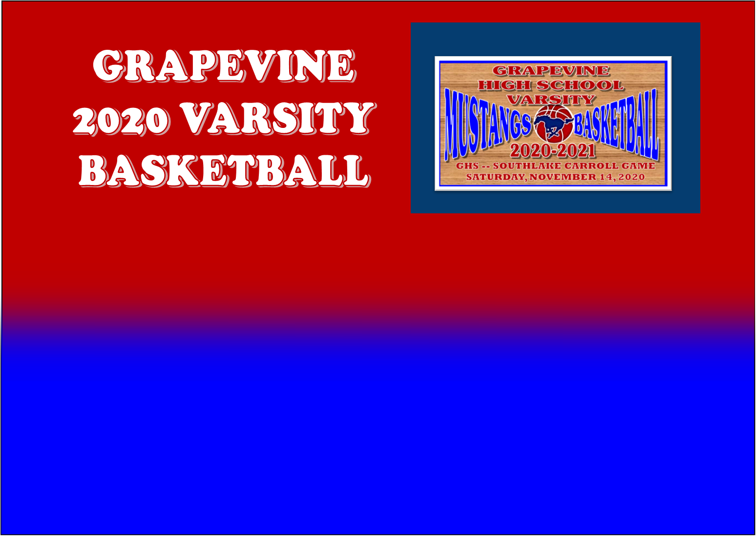 GCISD Basketball: Grapevine Mustangs Fall to Southlake Carroll Dragons 56-55