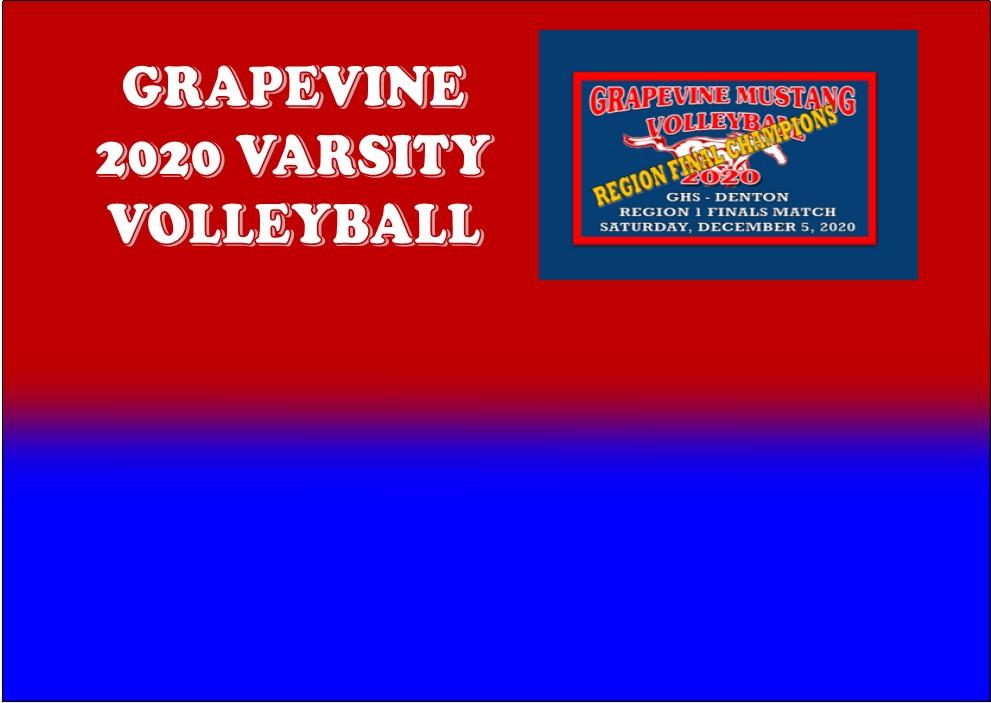 GCISD Volleyball: Grapevine Mustangs Win 5A Region 1 Championship Over Denton Broncos 3-2