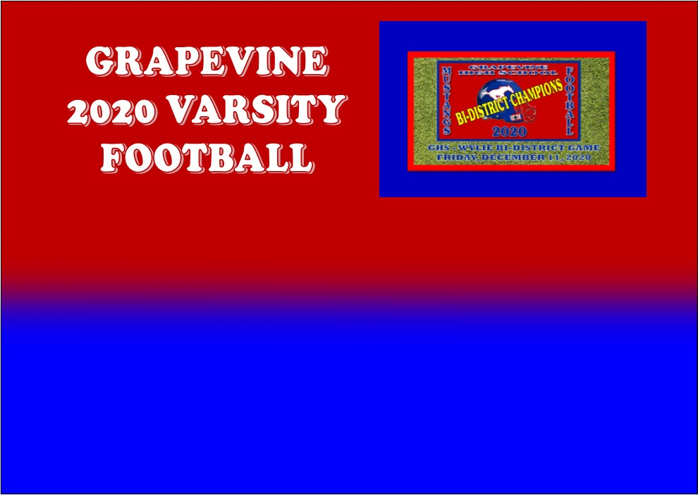 GCISD Football:  Grapevine Mustangs Battle Wylie Bulldogs to Win 5A Division 2 Bi-District Playoff Game 34-24