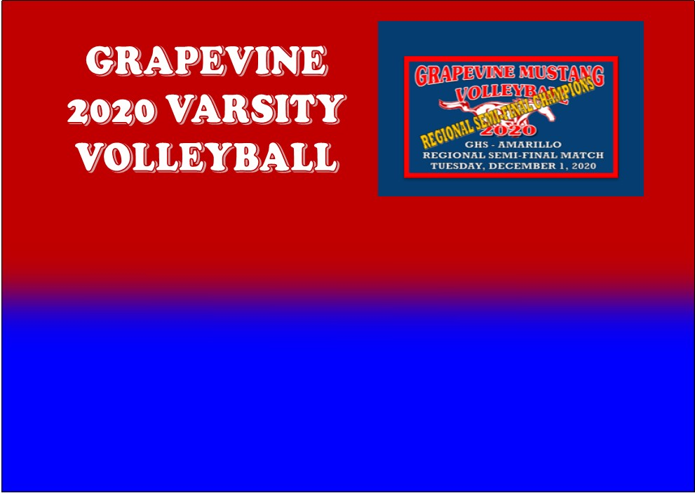 GCISD Volleyball: Grapevine Mustangs Surge to Win Regional Semi-Final Match Over Amarillo Sandies